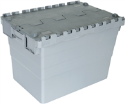 Easy to handle than longer 80 ltr containers these boxes are ideal for bulk handling. Useful box to move DESKTOPS and monitors. These boxes are moled from polypropylene.