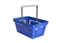 SHOPPING BASKETS BEST UK PRICES SINGLE HANDLE or Double HANDLE.