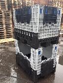 Folding Plastic Box Pallet - 1200x1000x690mm