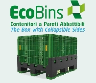 NEW FULL FOLDING  PALLET BOX - also (micro MINI MAGNUM option )