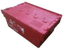 Attached Lidded Crate 45ltr