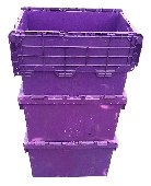 Spare Industrial Polypropylene Attached lid containers 60ltr