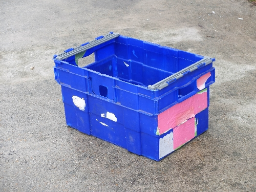 60ltr Bail Arm Stack & Nest Plastic BOX