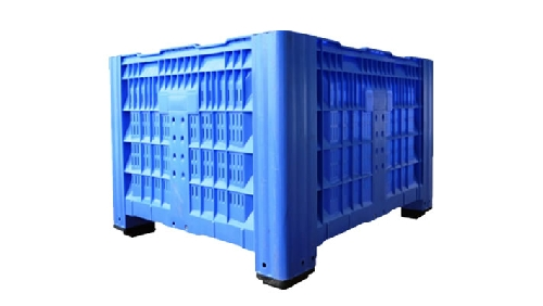 NEW PALLET PLASTIC BOX VENTED LOWEST UK NEW PRICE !!!