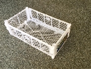 Once used Delivery plastic boxes Trays & Crates used for GRAPES