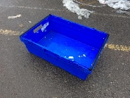 SOLID bail arm super market tray USEFUL PLASTIC BOXES