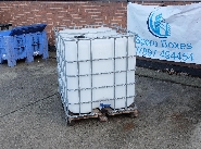 IBC LIQUID STORAGE PALLET CONTAINER