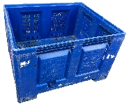 DOLAV PALLET PLASTIC BOXES VENTED