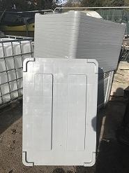 PALLET PLASTIC BOX lids euro