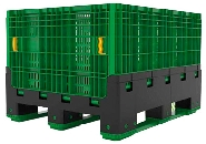 NEW FOLDING PALLET BOX - MAGNUM VENTED