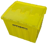 "REMOVAL  plastic ""TEA CHEST"" type Attached lidded Container"
