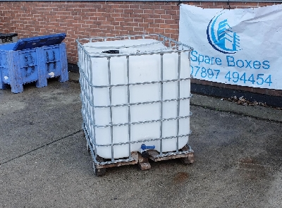 IBC's have been used for food waste storage and wine storage . Rinse out ideal for water storage also we have used IBC's available for immediate delivery.